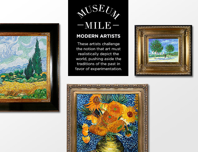 Museum Mile: Vincent Van Gogh at MYHABIT