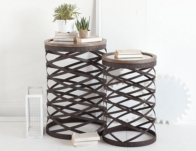 On Our Wish List: Unique Tables at MYHABIT