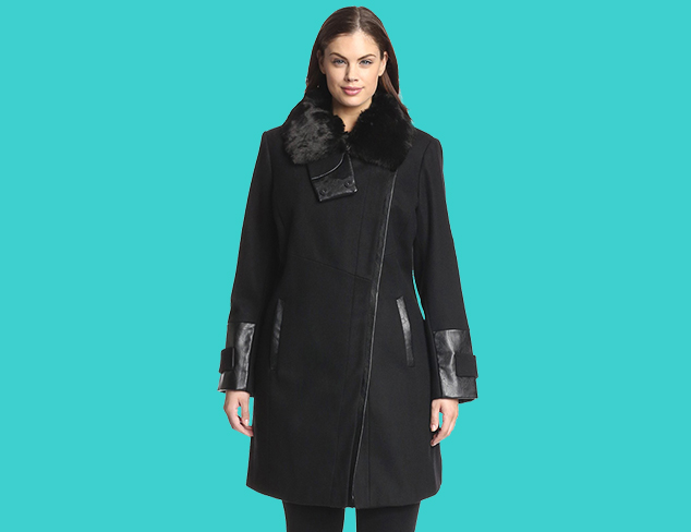 Plus Size: Winter Coats at MYHABIT