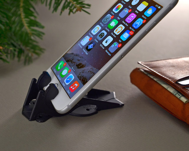 Pocket Tripod 360º Adjustable Card-Size iPhone Stand