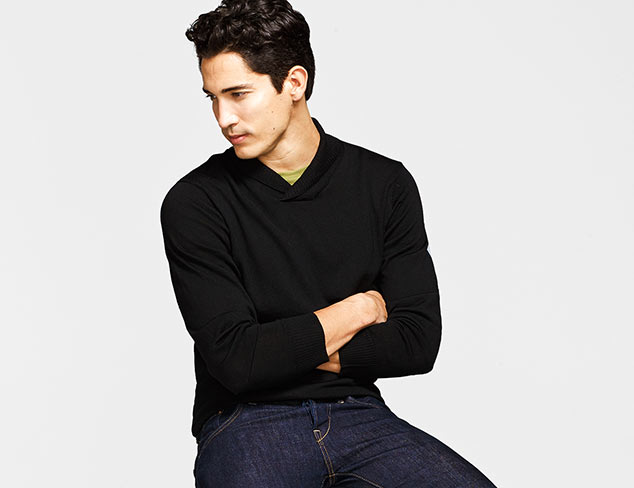 The Shawl Neck Sweater at MYHABIT