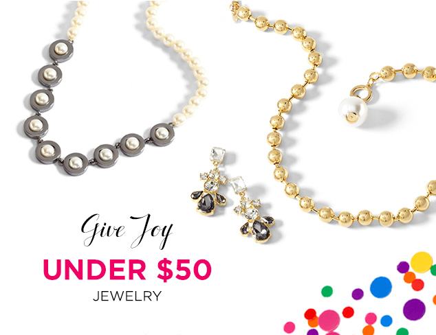 Under $50: Jewelry Gifts at MYHABIT