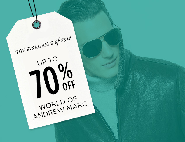 Up to 70% Off: World of Andrew Marc at MYHABIT