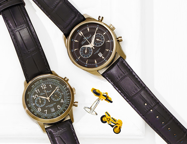 Well Suited: Watches & Cufflinks at MYHABIT