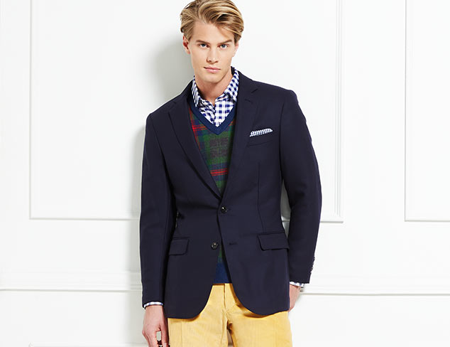Winter Preppy: J. McLaughlin at MYHABIT