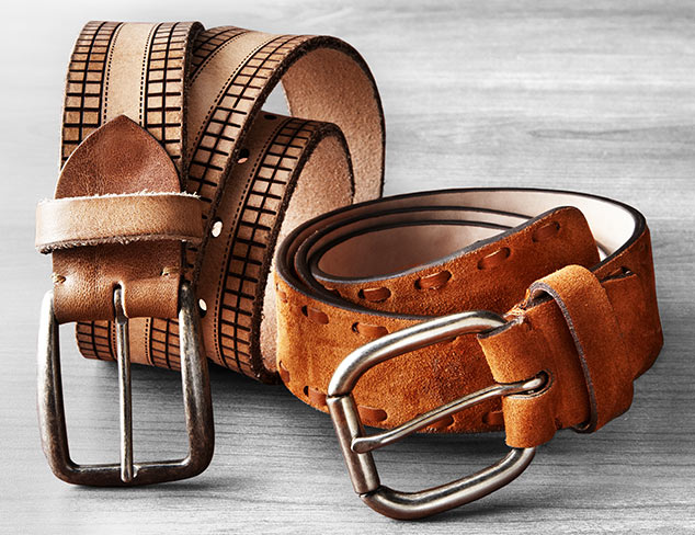 $9 & Up: Belts at MYHABIT