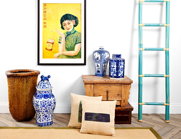 Asian Influence: Home Décor at MYHABIT