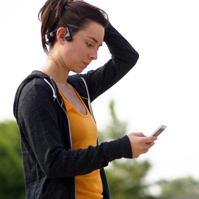 AfterShokz Bluez 2 Bluetooth Wireless Bone Conduction Headphones