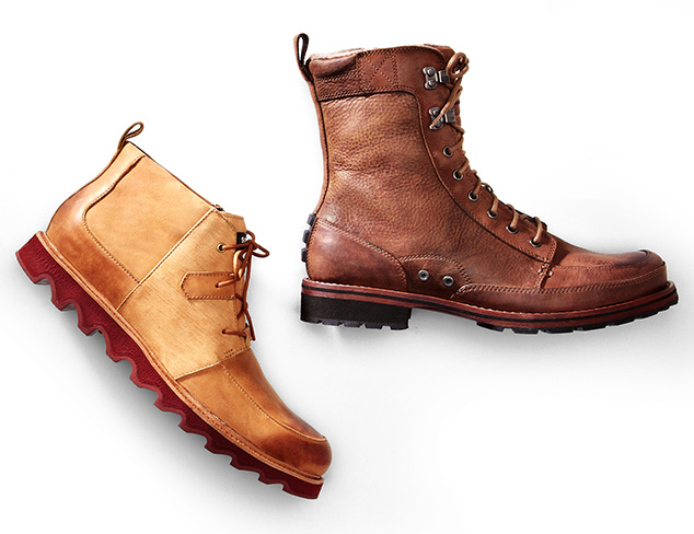Brave the Outdoors: Rugged Shoes & Boots at MYHABIT