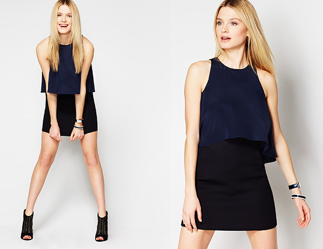 Color Theory: Navy & Black at MYHABIT