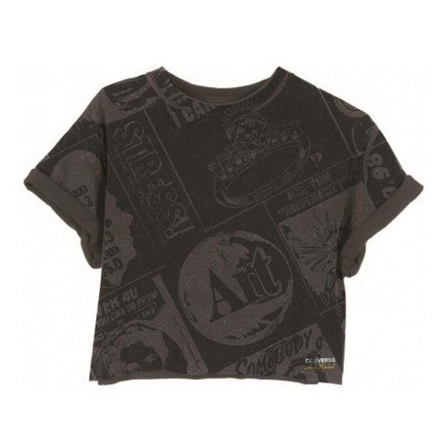Converse All Star Andy Warhol Apparel Cropped Tee