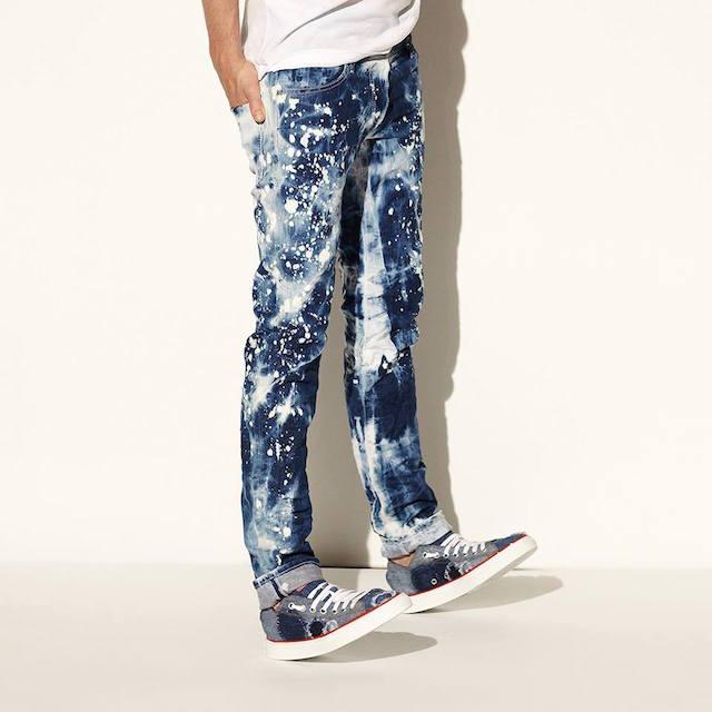 DSQUARED Slim-Fit Splatter Paint Jeans
