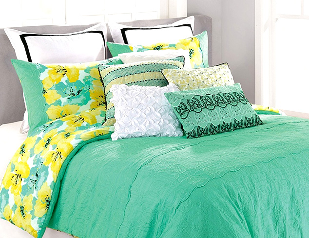 Designer Bedding feat. Nanette Lepore at MYHABIT