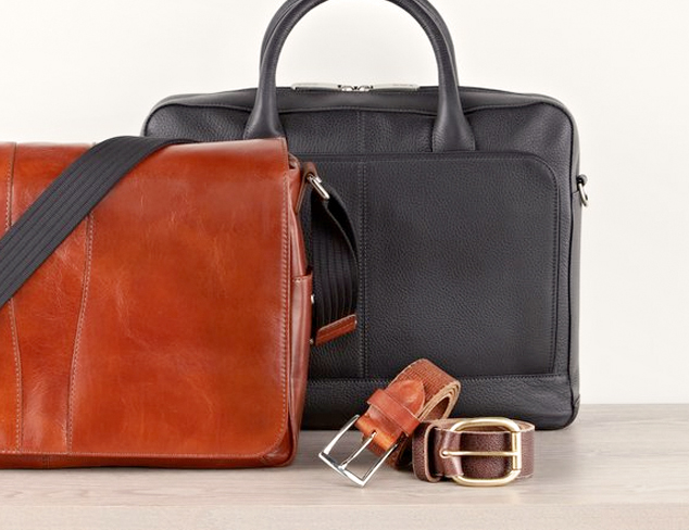 In With the New: Leather Goods at MYHABIT