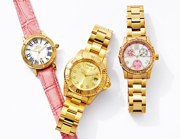 Invicta Watches & More at MYHABIT