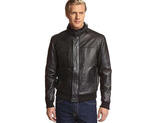 Leather Looks: Bombers & Moto Jackets at MYHABIT