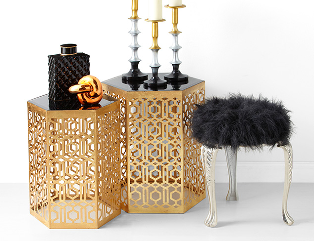 Modern Glamour: Décor Accents at MYHABIT