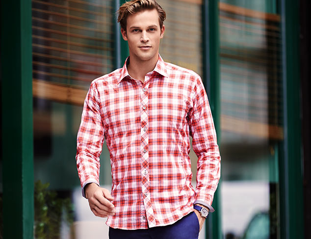 Modern Shirting feat. Jared Lang at MYHABIT