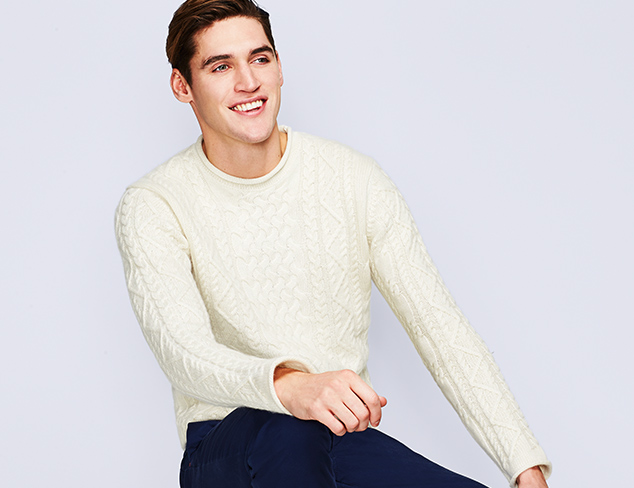 New Markdowns: Griffen Sweaters at MYHABIT