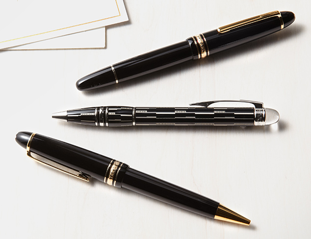 Off to Work: Montblanc Pens & More at MYHABIT