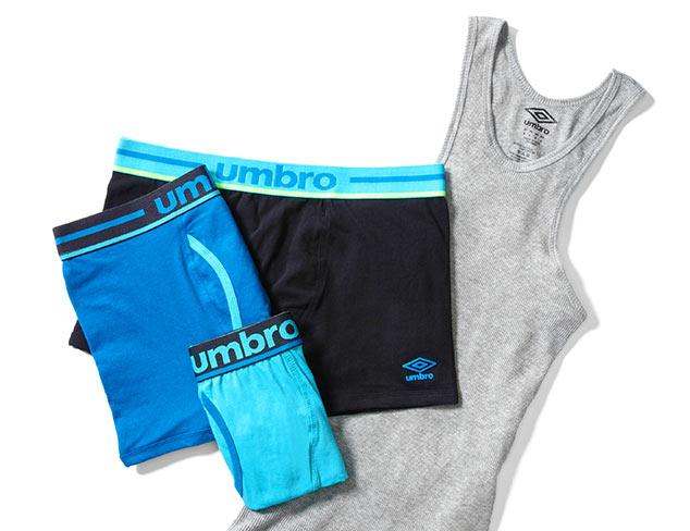 Performance Socks & Underwear feat Umbro at MYHABIT