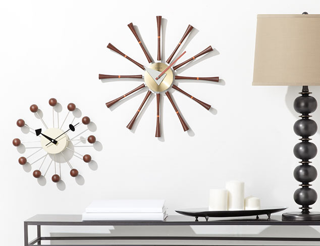 Right On Time: Clocks at MYHABIT