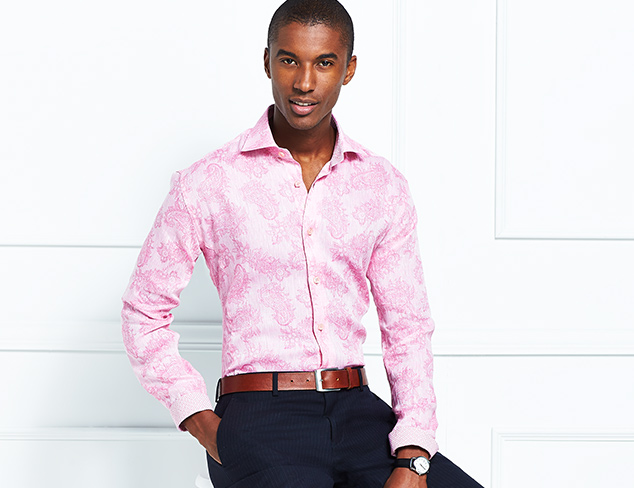 Stand-Out Shirting feat. Something Strong at MYHABIT