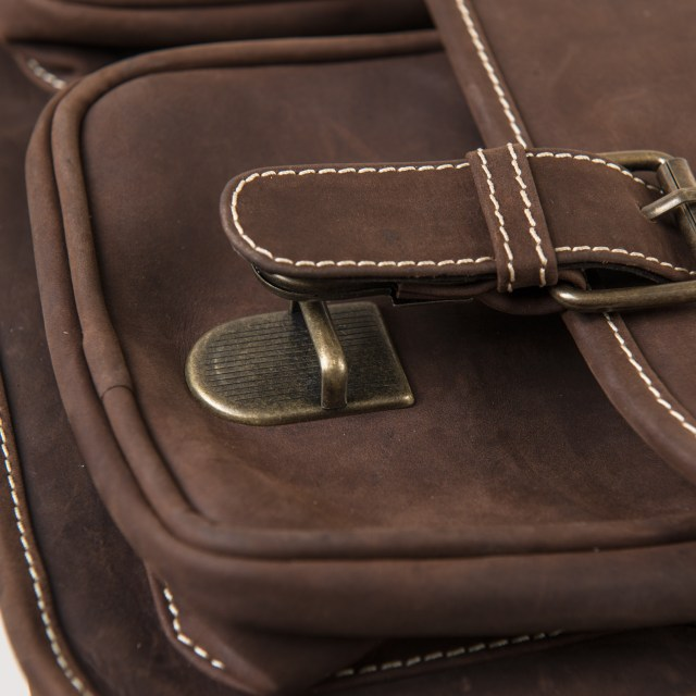 Statement Leather Goods The Messenger