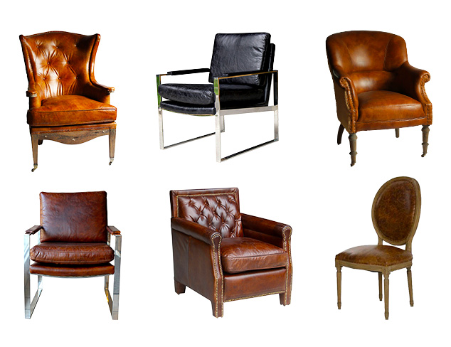 Top-Grain Leather Furniture at MYHABIT
