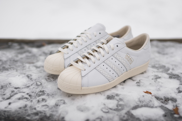 Undefeated x adidas Consortium Superstar 80v Sneaker 10th Anniversary