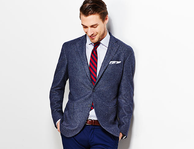 Up to 75% Off: Lubiam Suits & Sportcoats at MYHABIT