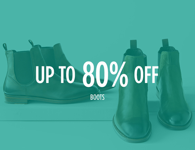 Up to 80% Off: Boots & More at MYHABIT