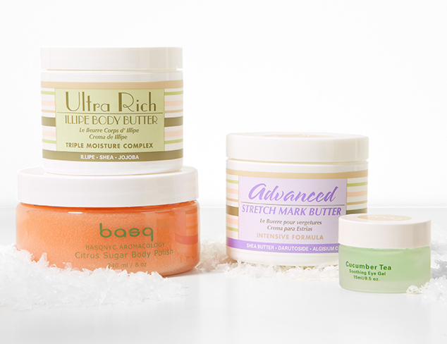 Wintery Mix: Face & Body Care at MYHABIT