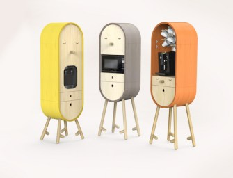 Aotta Studio LOLO: The Capsular Microkitchen
