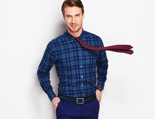 Classic Shirting Selections feat. Gitman Blue at MYHABIT
