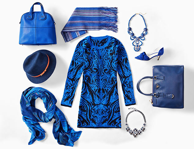 Color Story: Get the Blues at MYHABIT