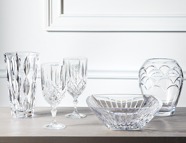 Crystal Glassware: Baccarat & More at MYHABIT