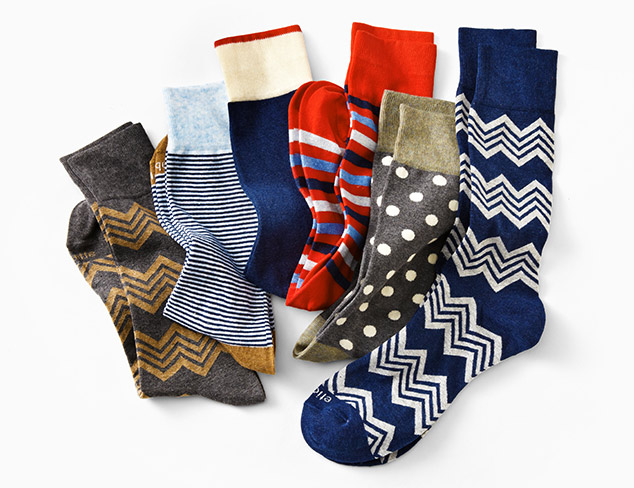Etiquette Socks at MYHABIT