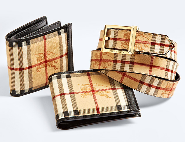 Gifts for Him: Burberry Accessories at MYHABIT