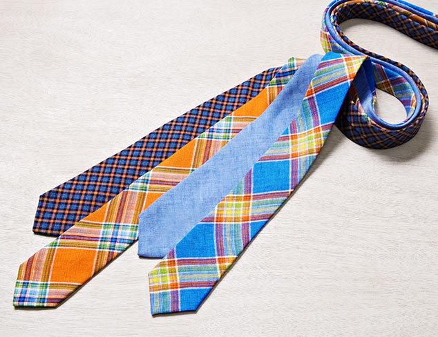 Gitman Blue Ties at MYHABIT