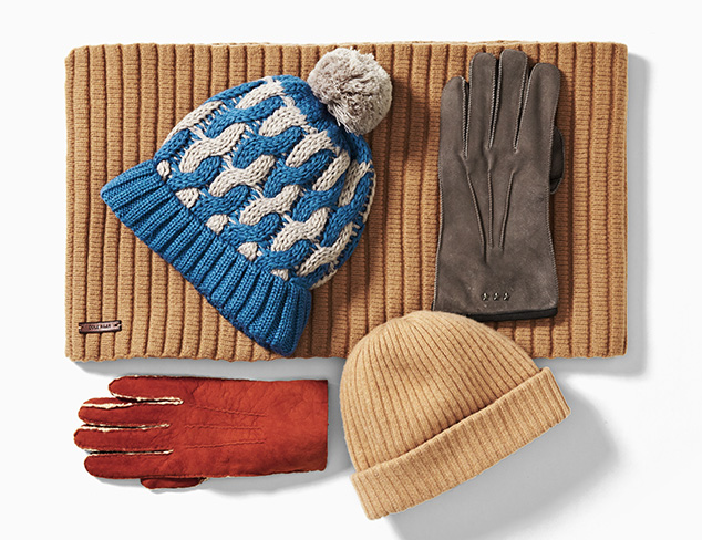 Layer on the Warmth: Hats, Gloves & More at MYHABIT