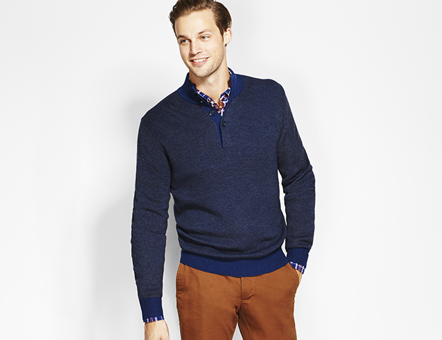 New Markdowns: Sweaters feat. Toscano at MYHABIT