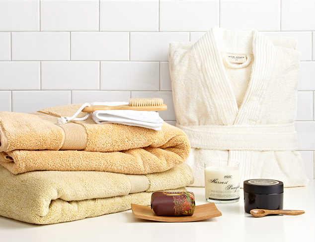 Perfectly Plush: Robes & Towel Sets at MYHABIT