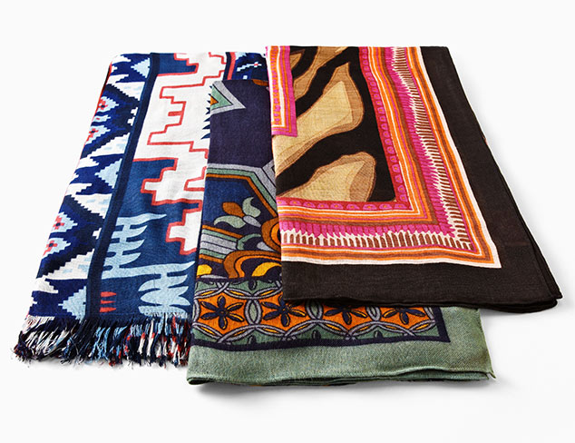 Resort Ready: Theordora & Callum Scarves & More at MYHABIT