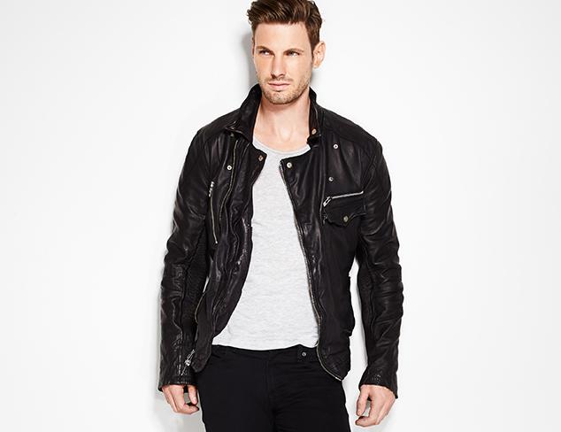 Rock Star Style: Denim, Leather & More at MYHABIT