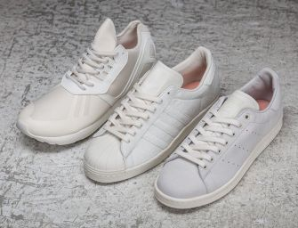 "Sneakersnstuff x adidas Originals ""Shades of White"" Pack"