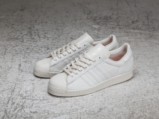 Sneakersnstuff x adidas Superstar Shades of White