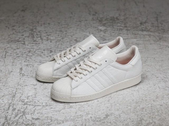 Sneakersnstuff x adidas Superstar Shades of White