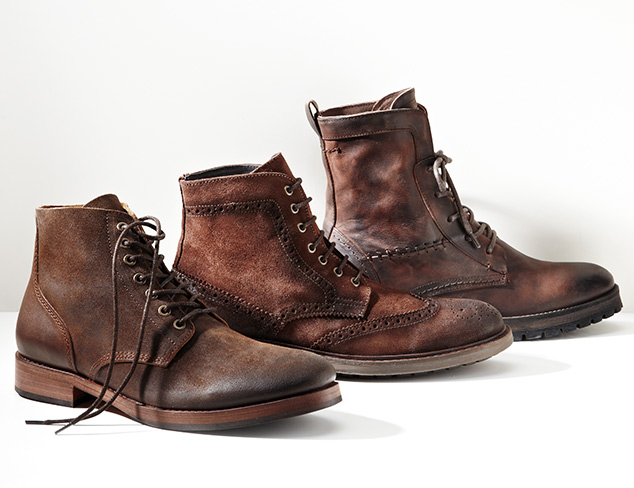 Timeless Suede: Oxfords, Loafers & Boots at MYHABIT