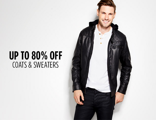 Up to 80% Off: Coats & Sweaters Size S at MYHABIT